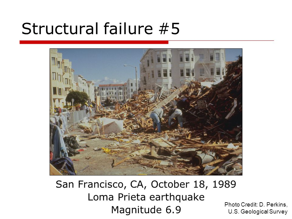 Structural failure #5 San Francisco, CA, October 18, 1989