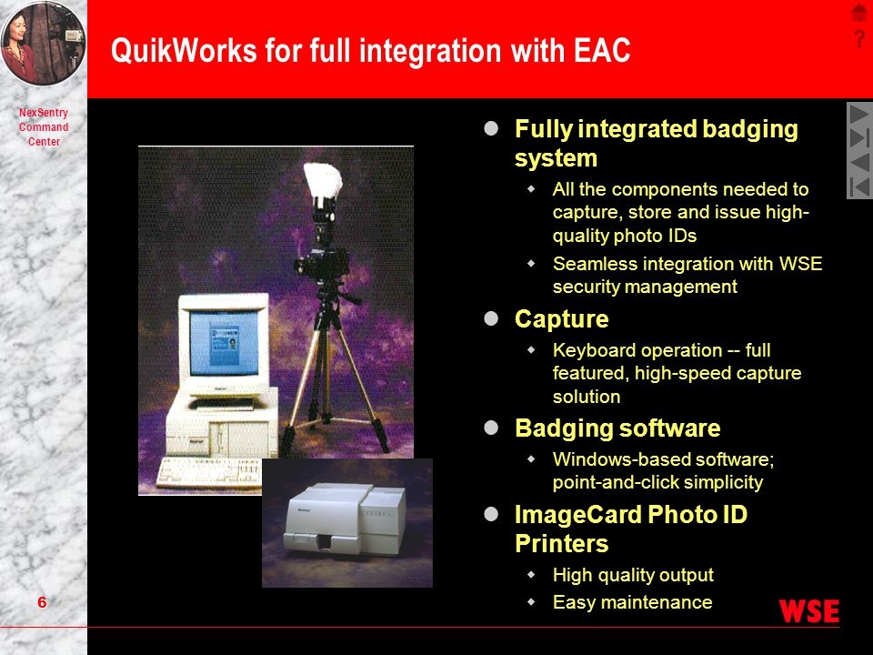 QuikWorks for full integration with EAC
