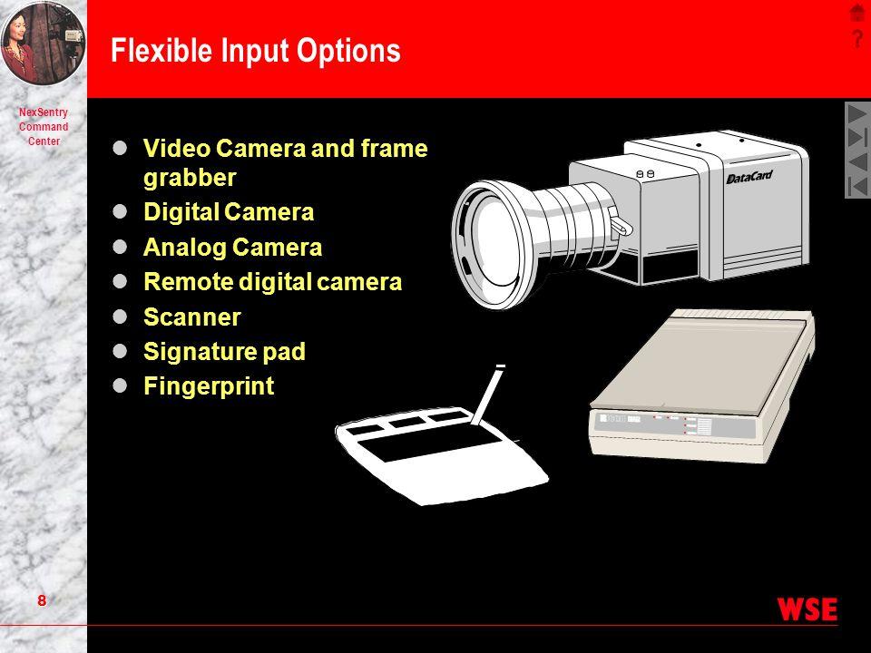 Flexible Input Options