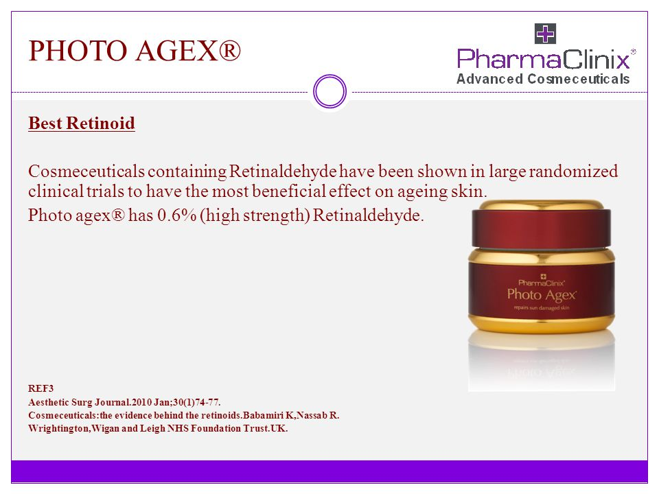 PHOTO AGEX® Best Retinoid