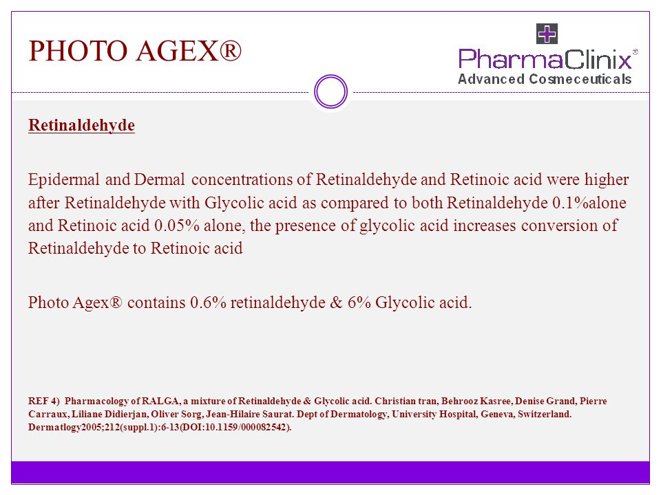 PHOTO AGEX® Retinaldehyde