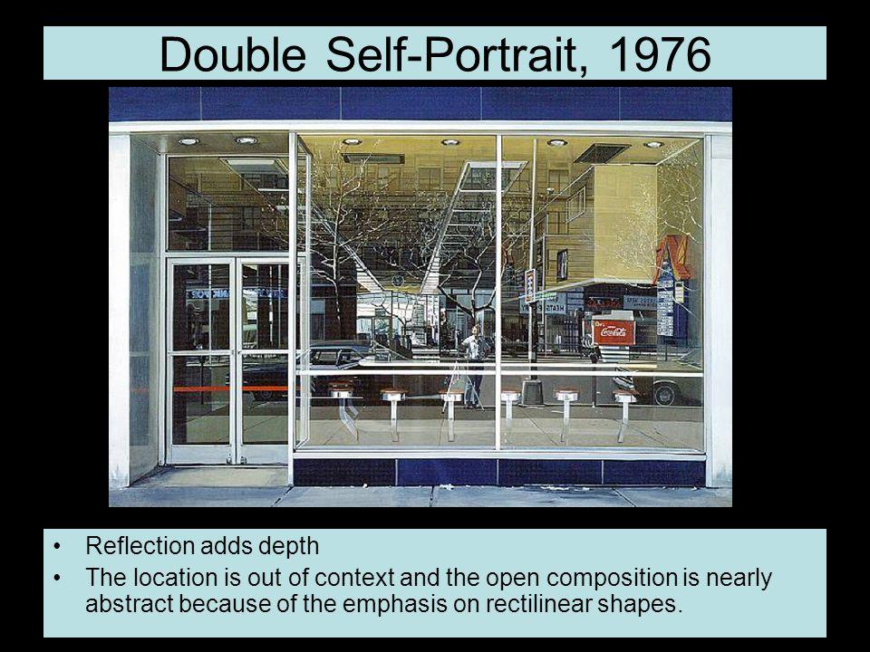 Double Self-Portrait, 1976 Reflection adds depth