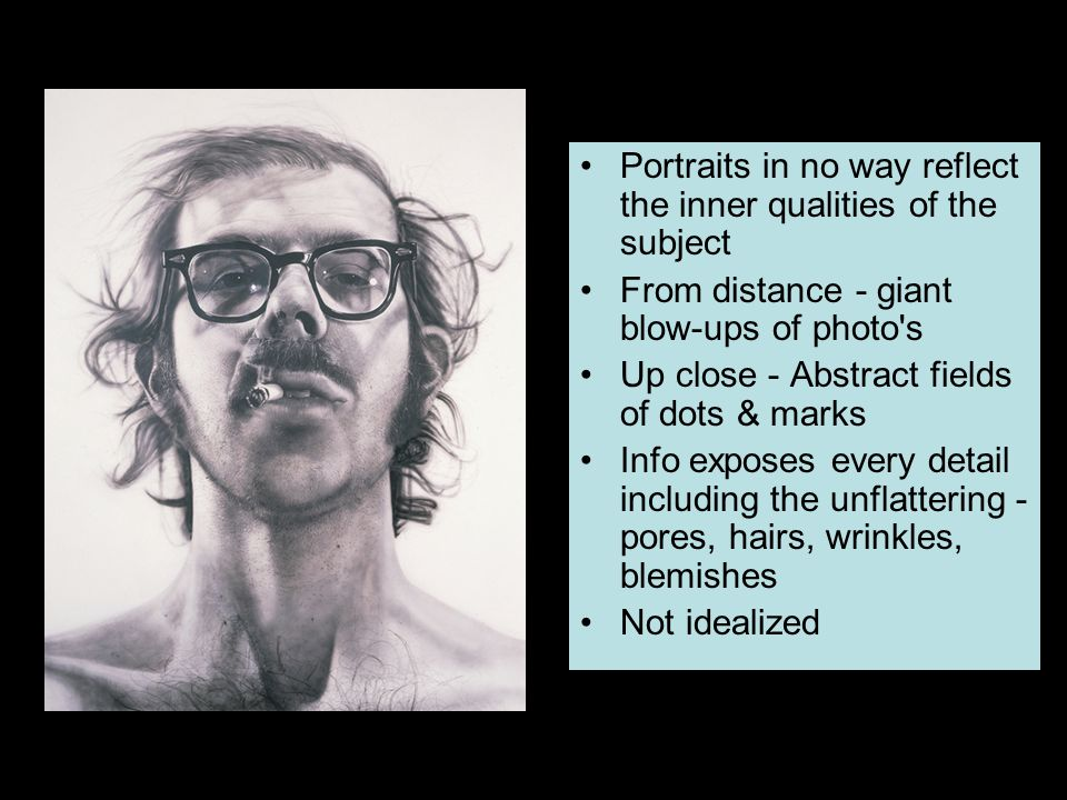 Portraits in no way reflect the inner qualities of the subject