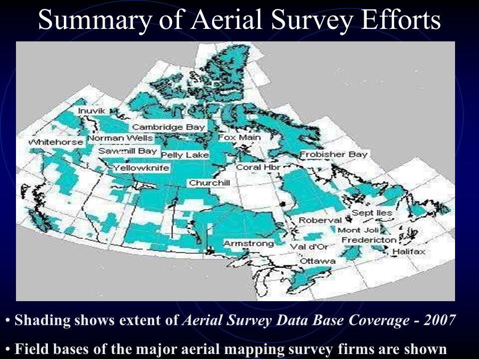 Summary of Aerial Survey Efforts
