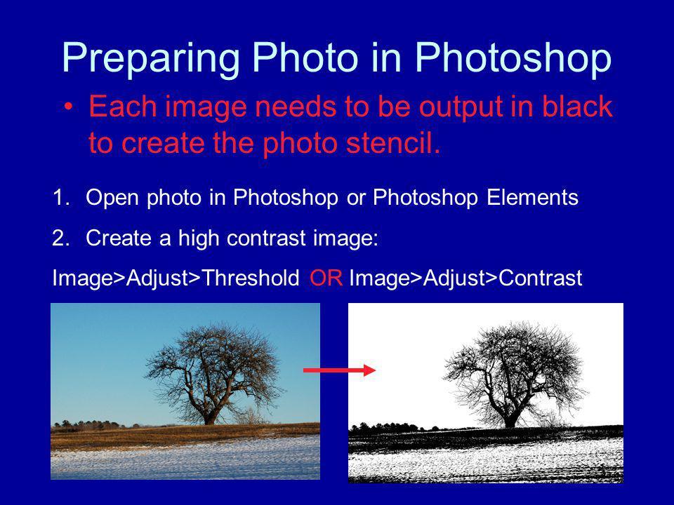 Preparing Photo in Photoshop