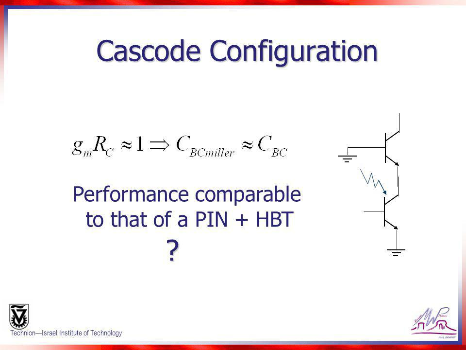 Cascode Configuration