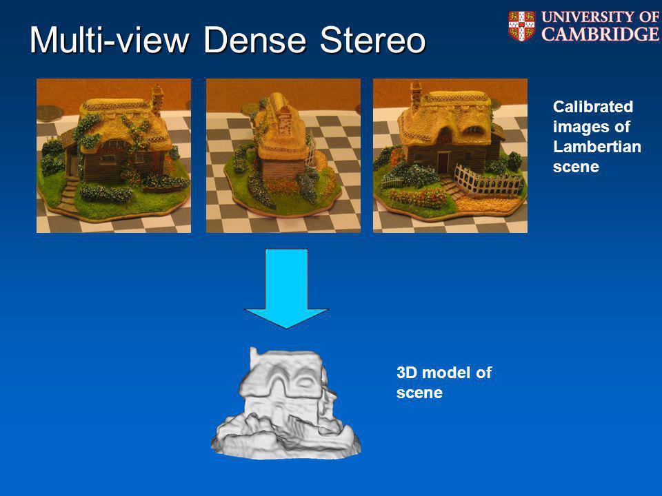 Multi-view Dense Stereo