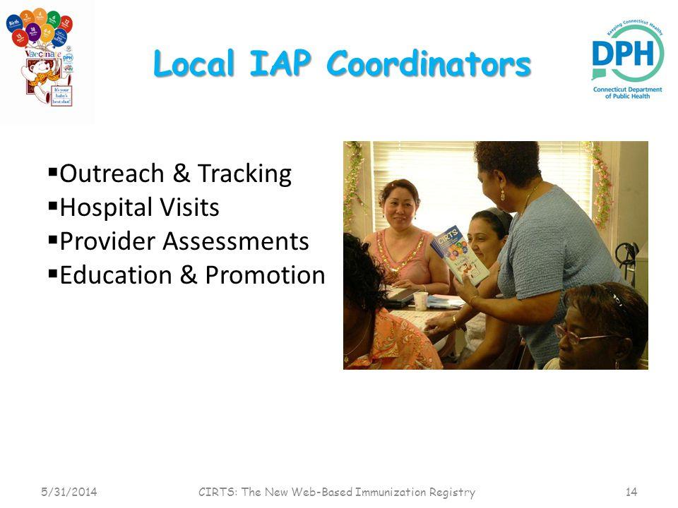 Local IAP Coordinators