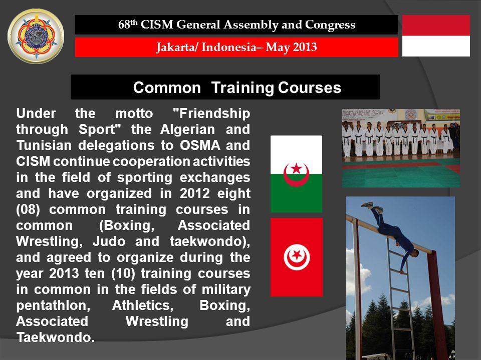 Common Training Courses