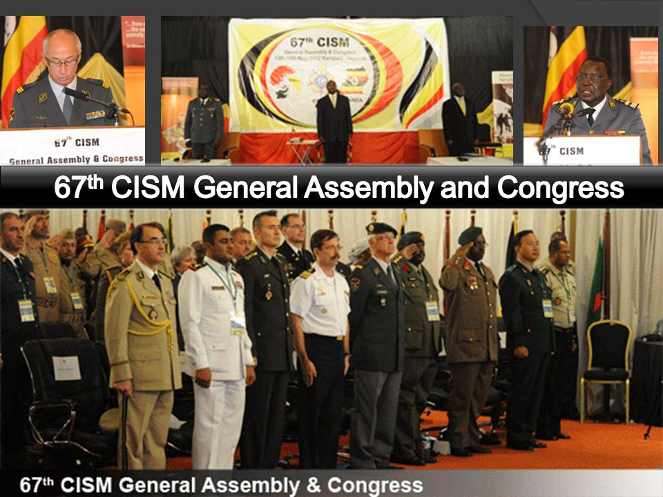 67th CISM General Assembly and Congress