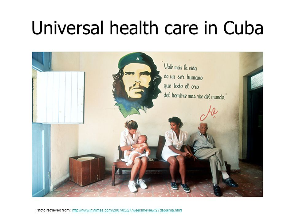 Universal health care in Cuba