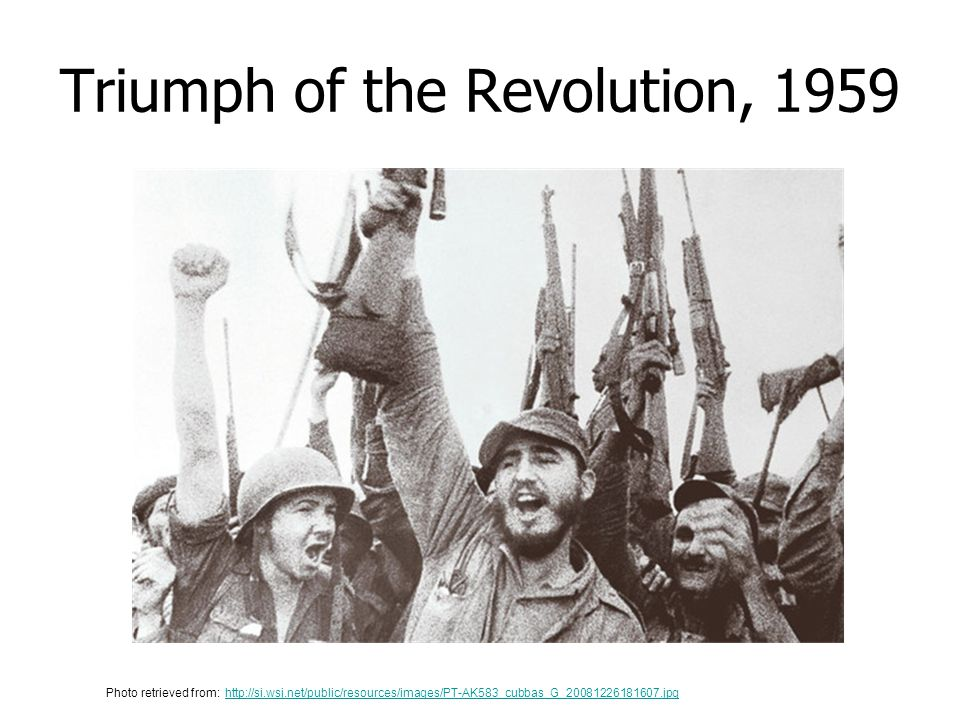 Triumph of the Revolution, 1959