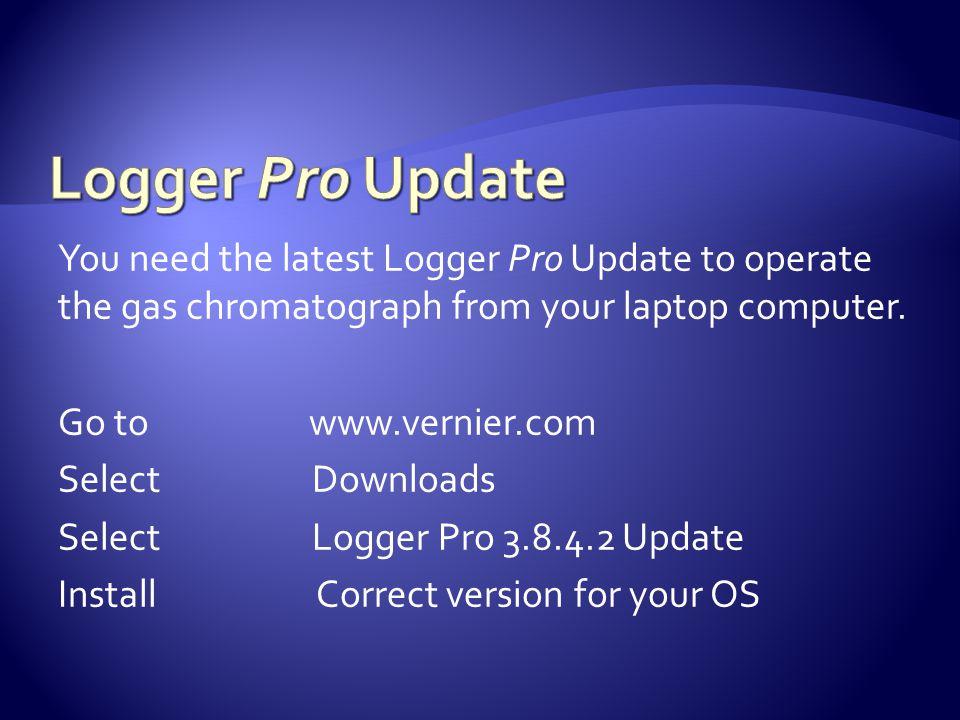 Logger Pro Update