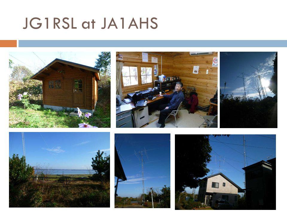 JG1RSL at JA1AHS