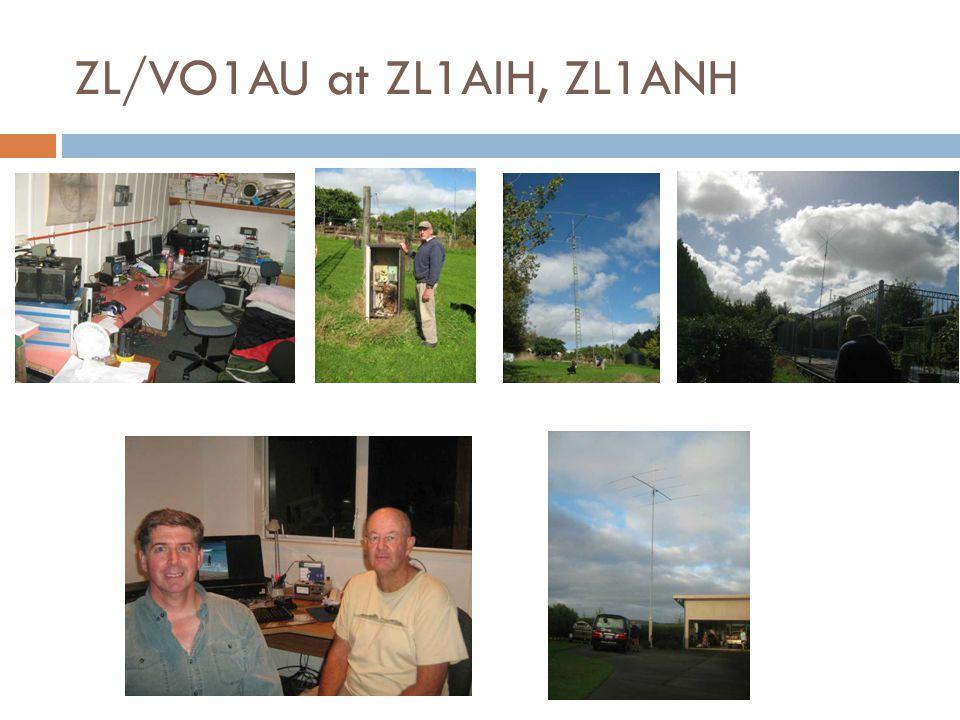 ZL/VO1AU at ZL1AIH, ZL1ANH