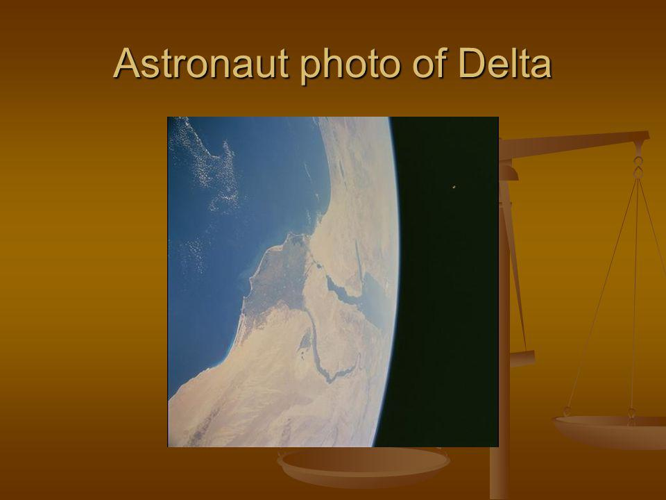 Astronaut photo of Delta