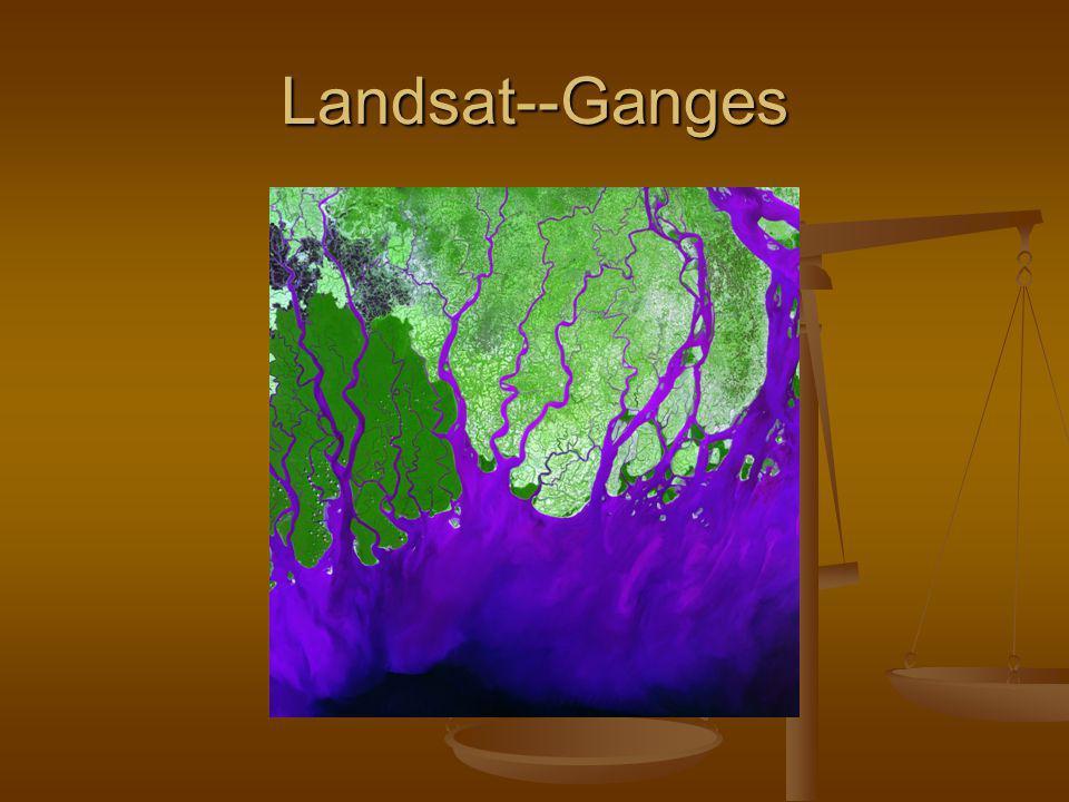 Landsat--Ganges