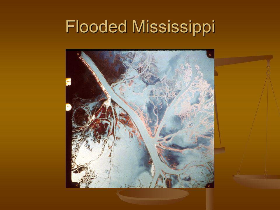 Flooded Mississippi