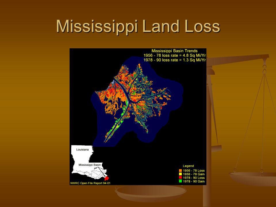 Mississippi Land Loss