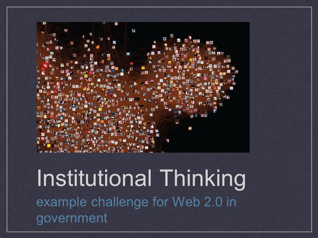 Institutional Thinking