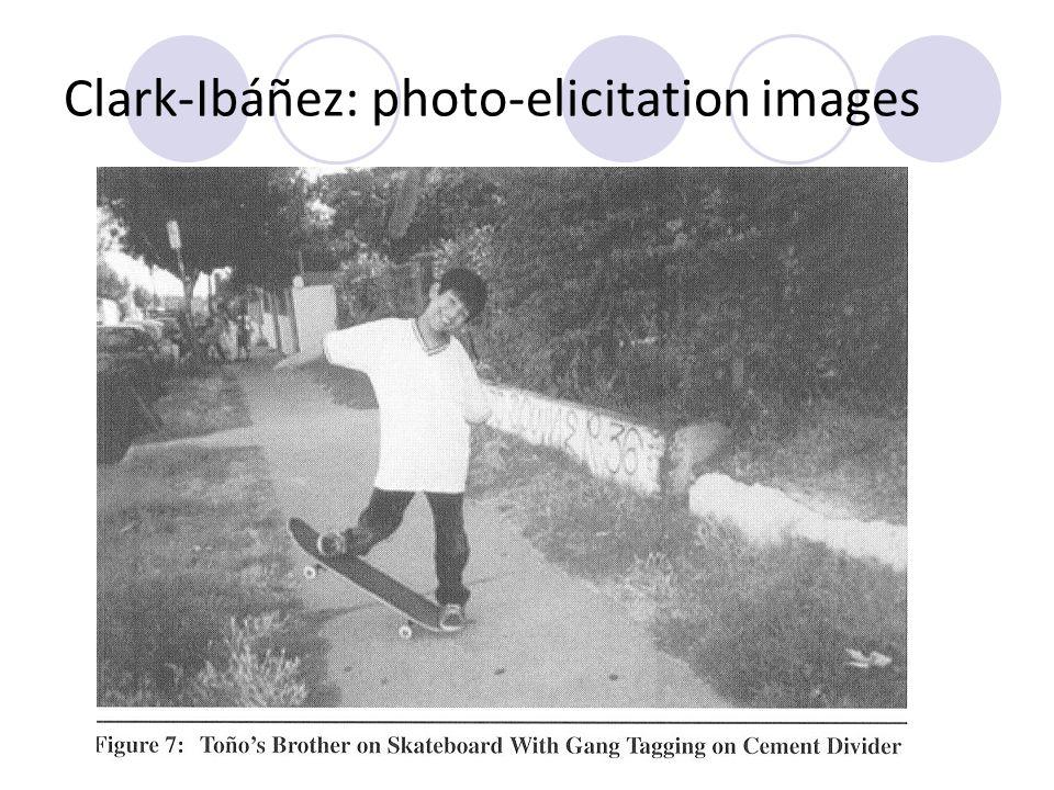 Clark-Ibáñez: photo-elicitation images