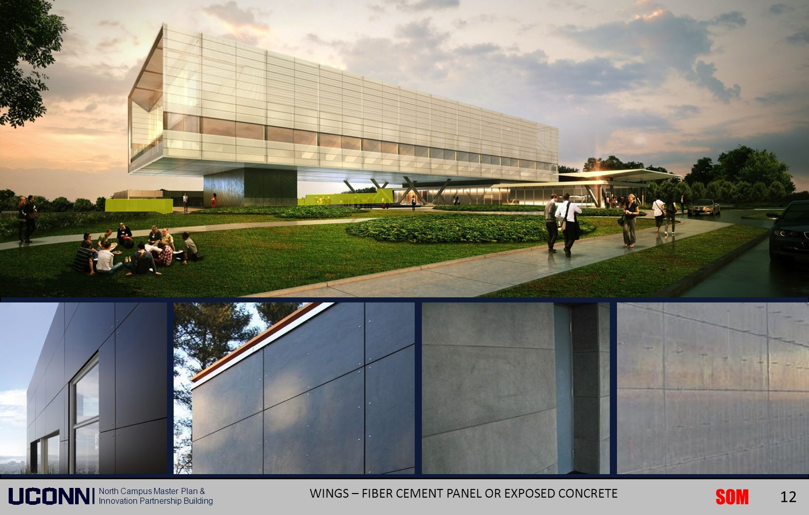 WINGS – FIBER CEMENT PANEL OR EXPOSED CONCRETE