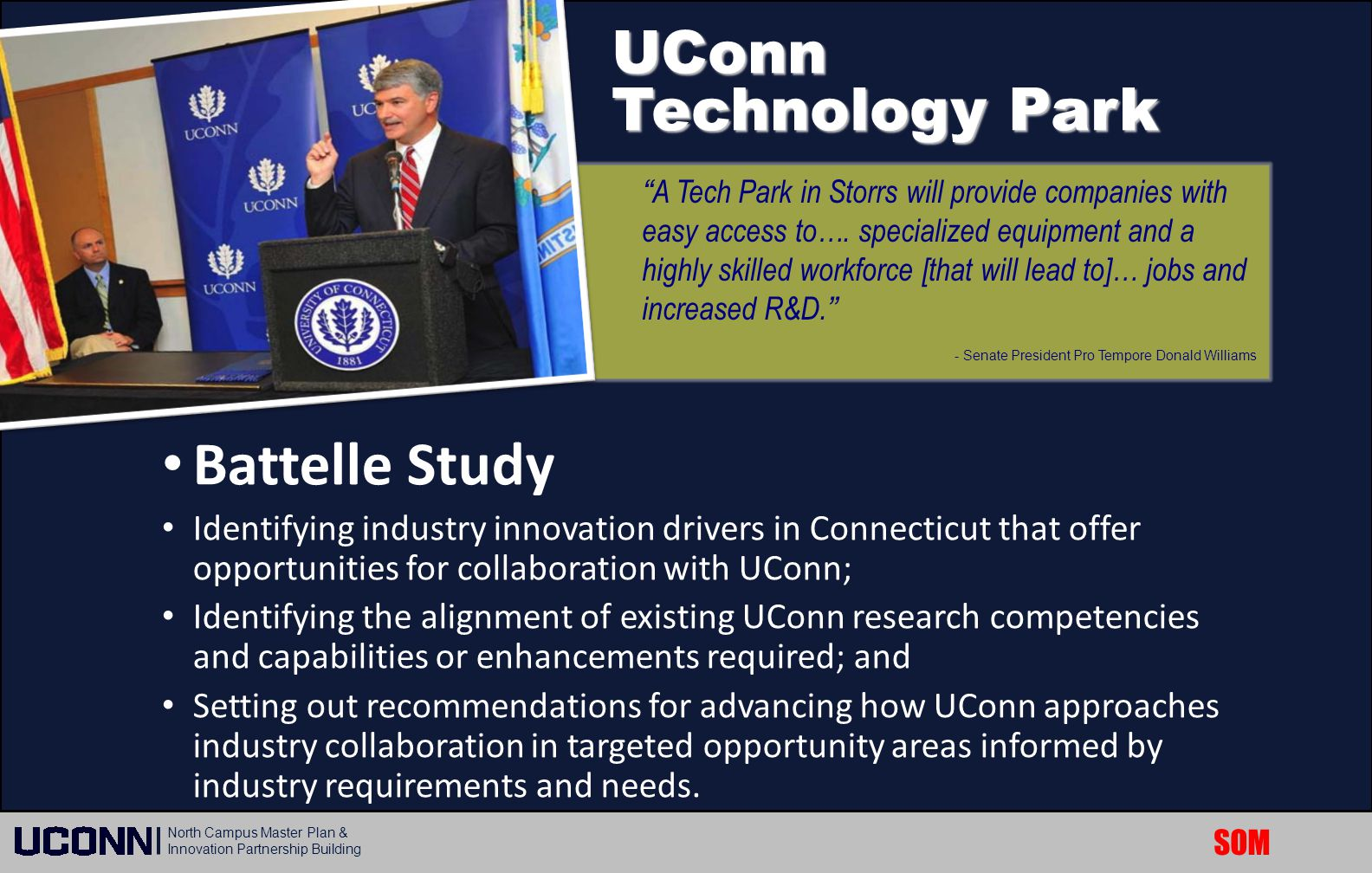 Battelle Study UConn Technology Park