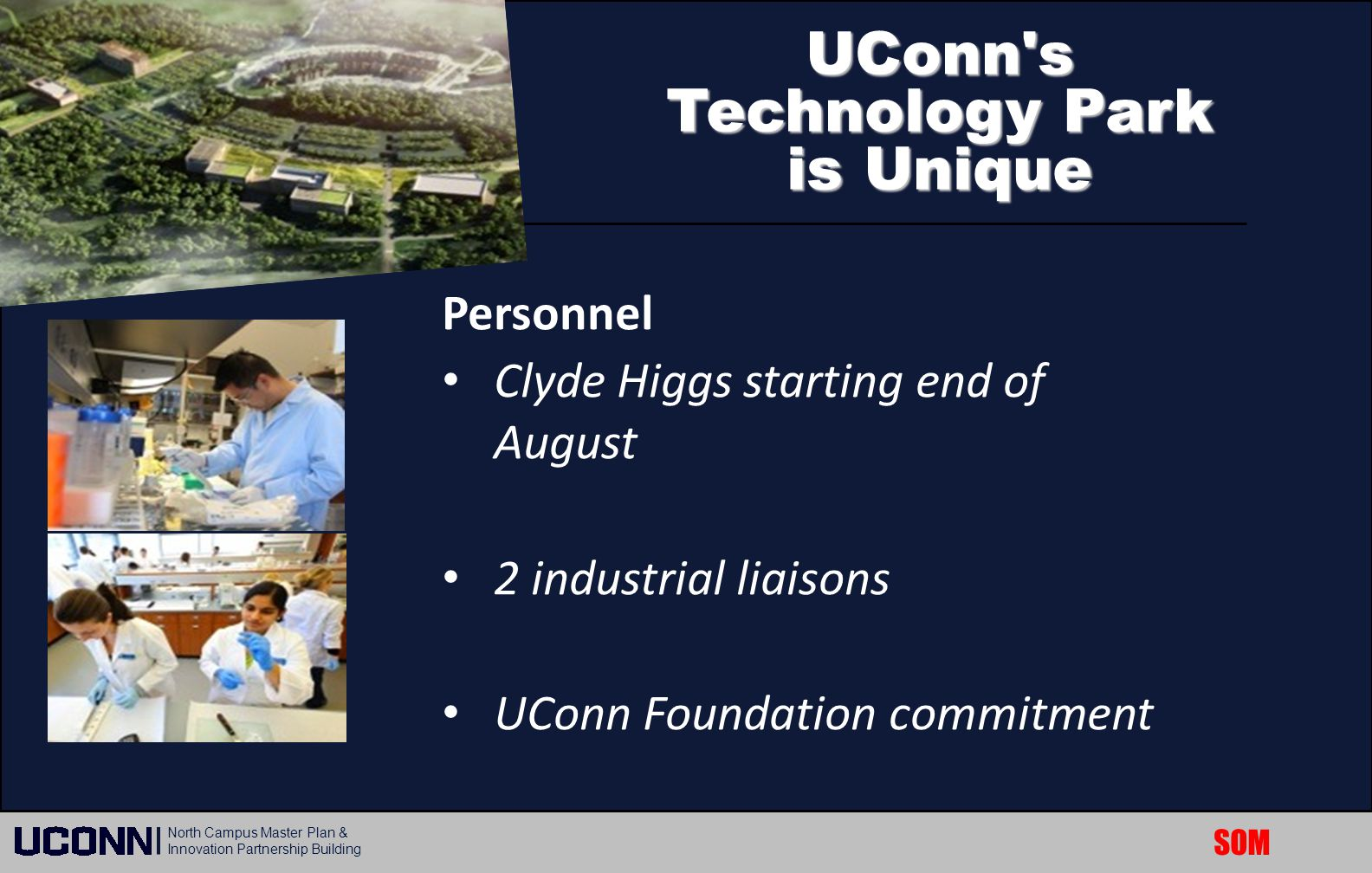 UConn s Technology Park is Unique
