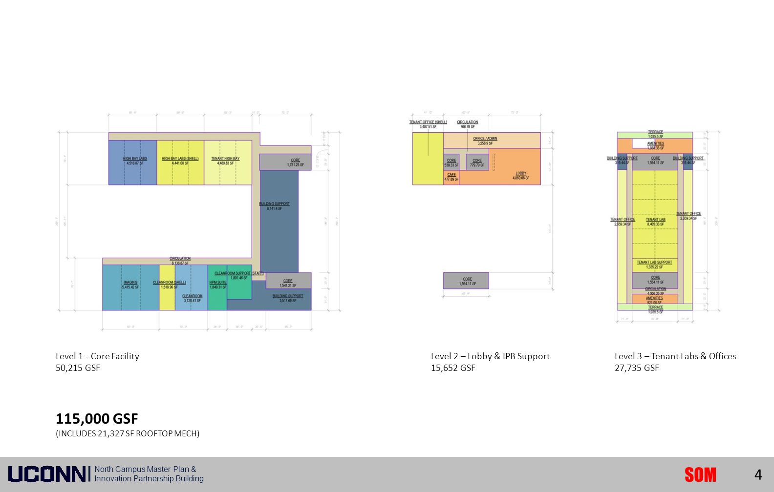 Phase I Building Site Plan Phase I Building Site Plan 115,000 GSF