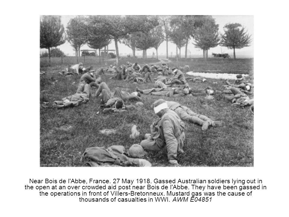 Near Bois de l Abbe, France. 27 May 1918