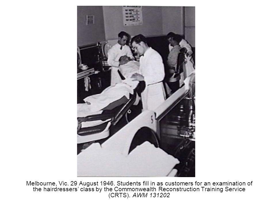 Melbourne, Vic. 29 August 1946.