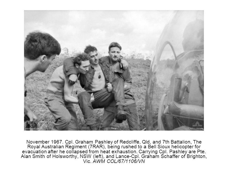 November 1967. Cpl.