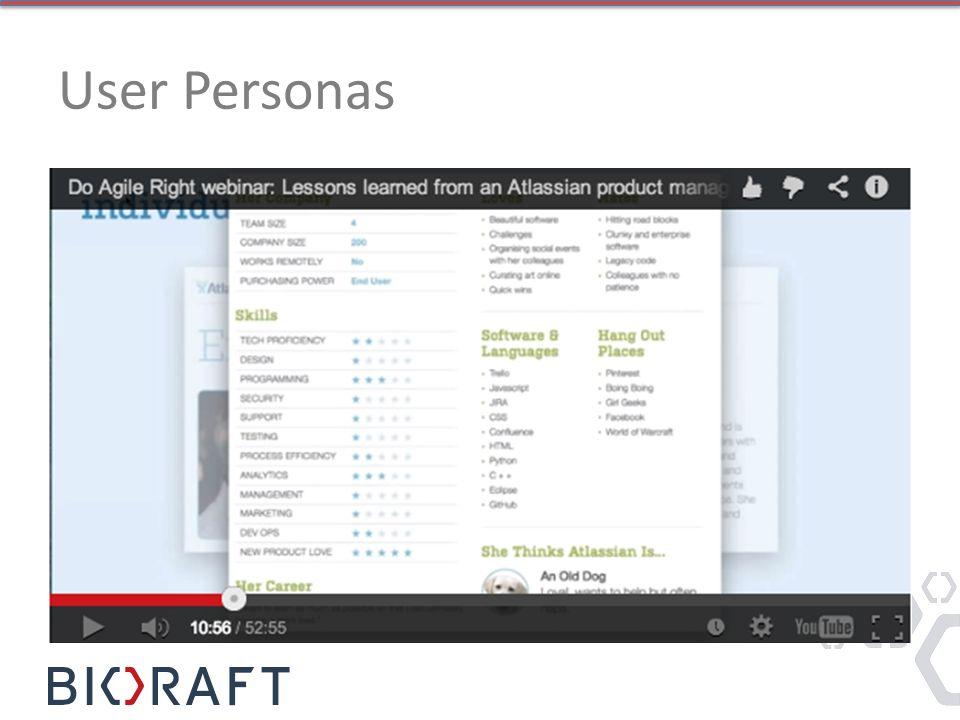 User Personas