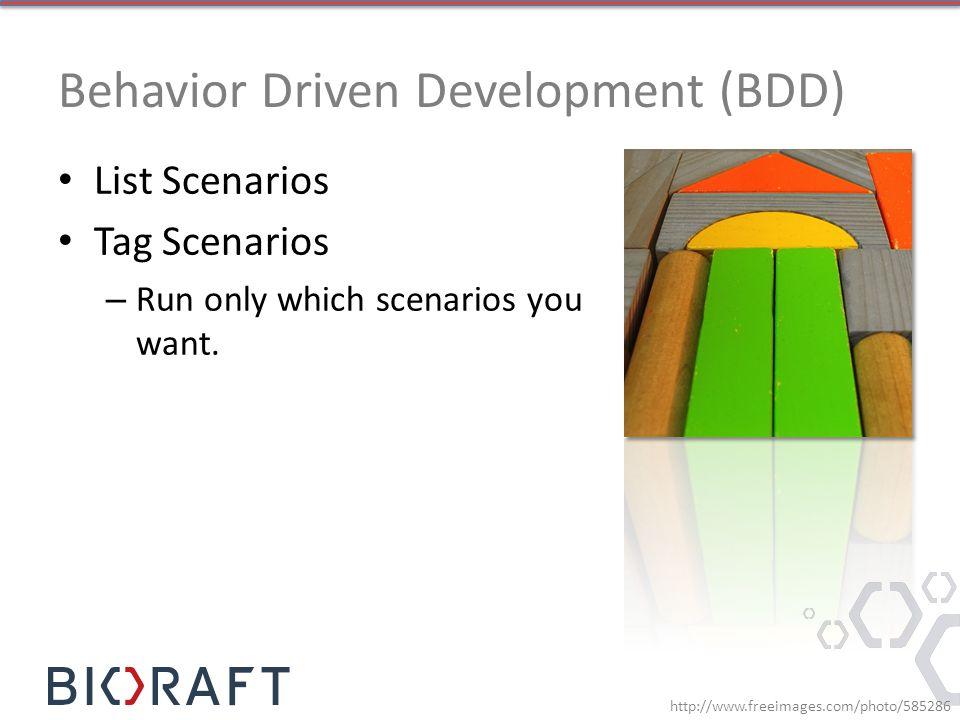 Behavior Driven Development (BDD)
