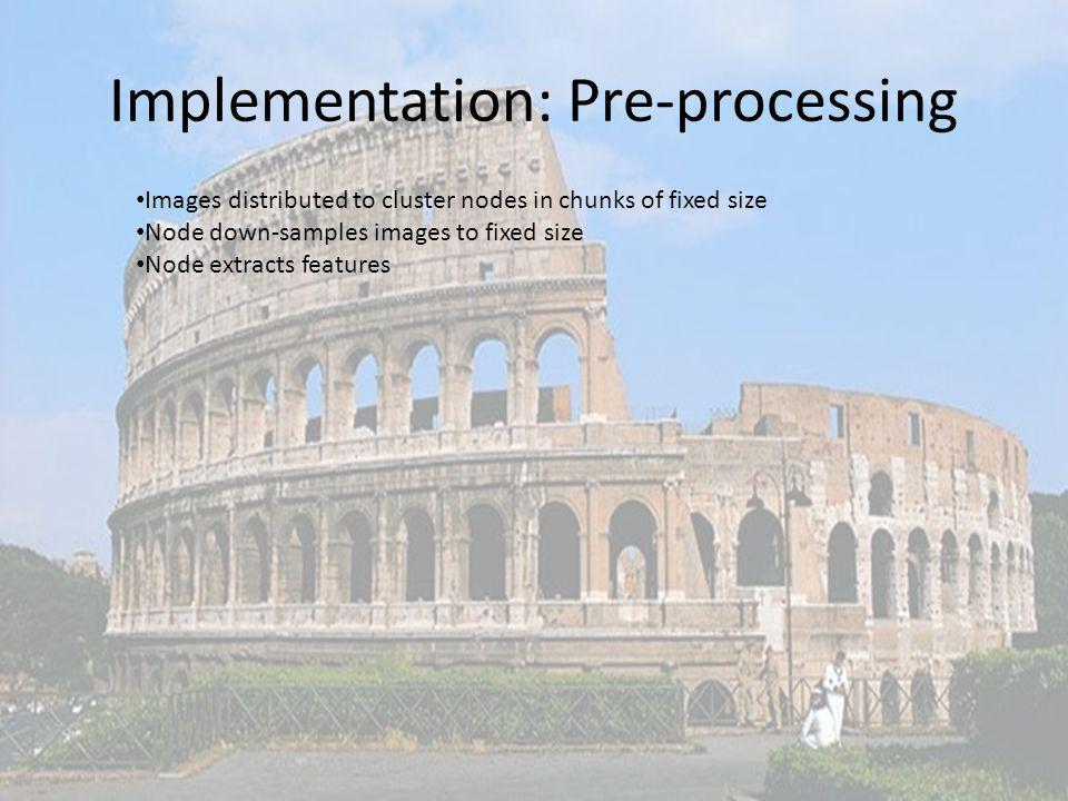 Implementation: Pre-processing