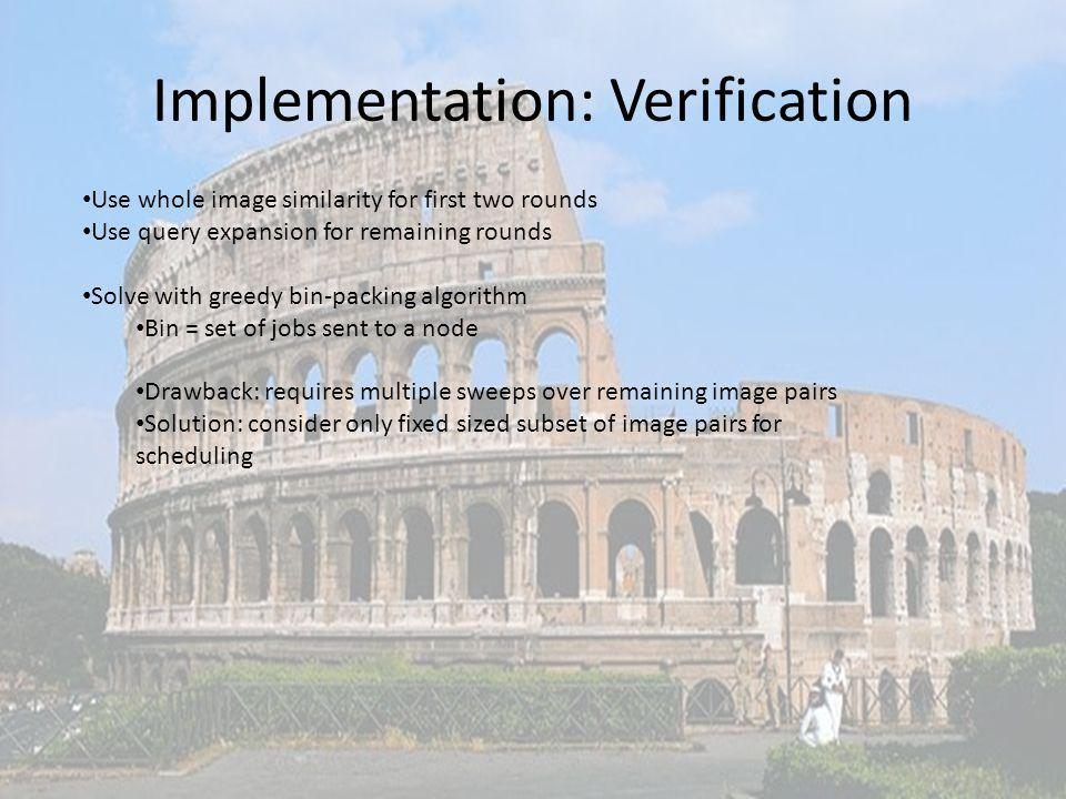 Implementation: Verification