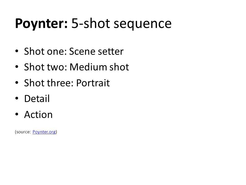 Poynter: 5-shot sequence