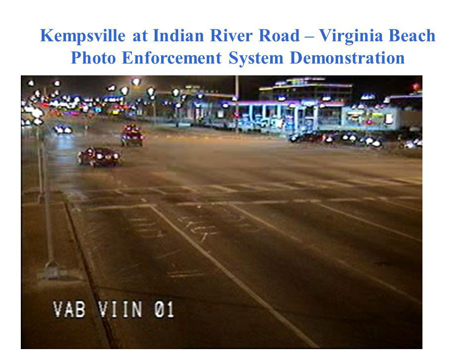 Kempsville at Indian River Road – Virginia Beach Photo Enforcement System Demonstration