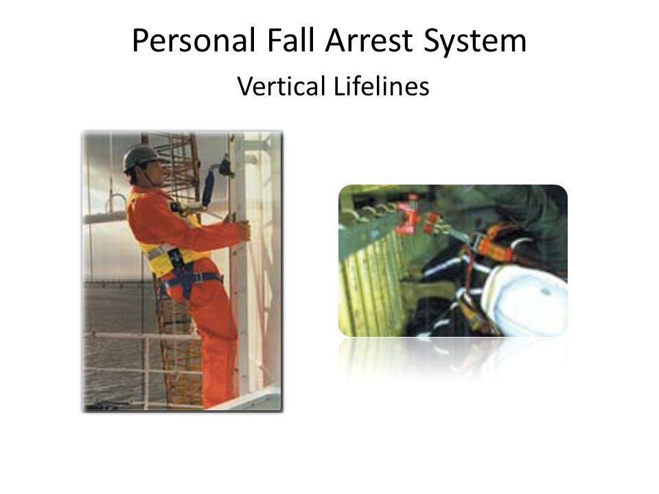 Personal Fall Arrest System Vertical Lifelines