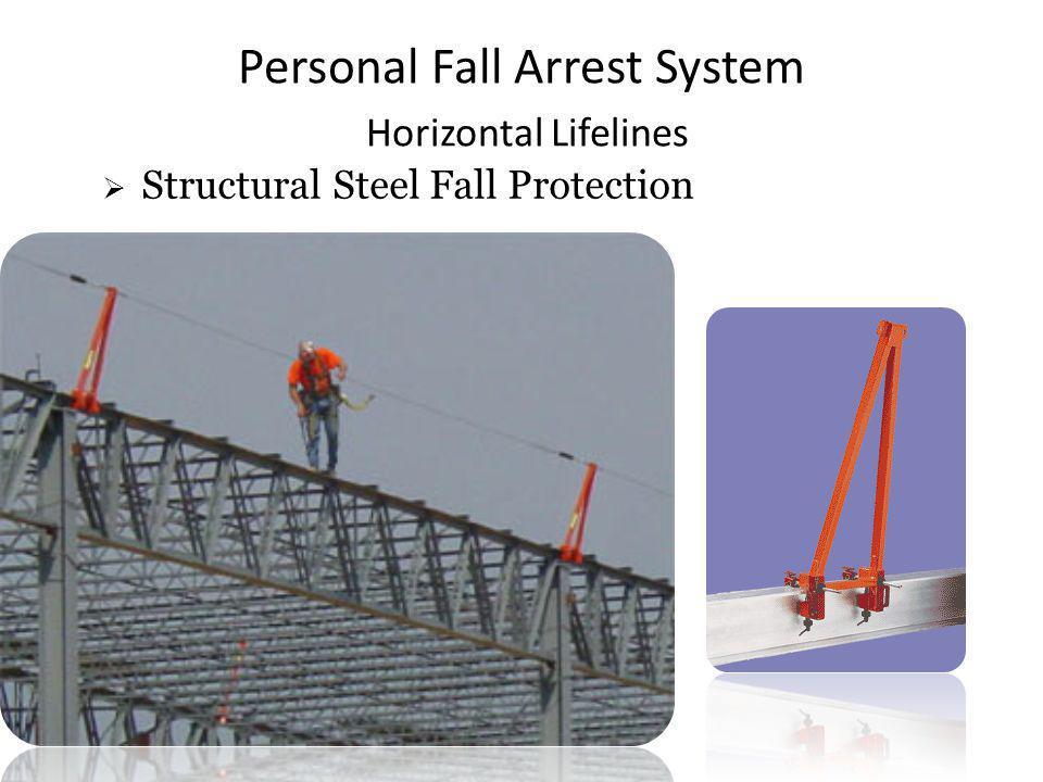 Personal Fall Arrest System Horizontal Lifelines