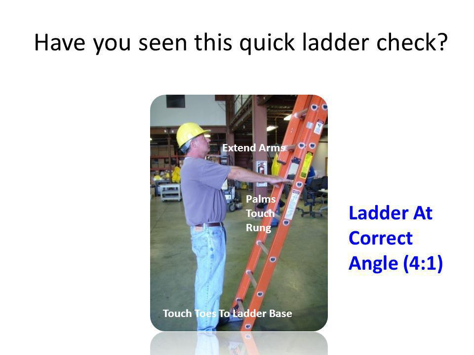 Have you seen this quick ladder check