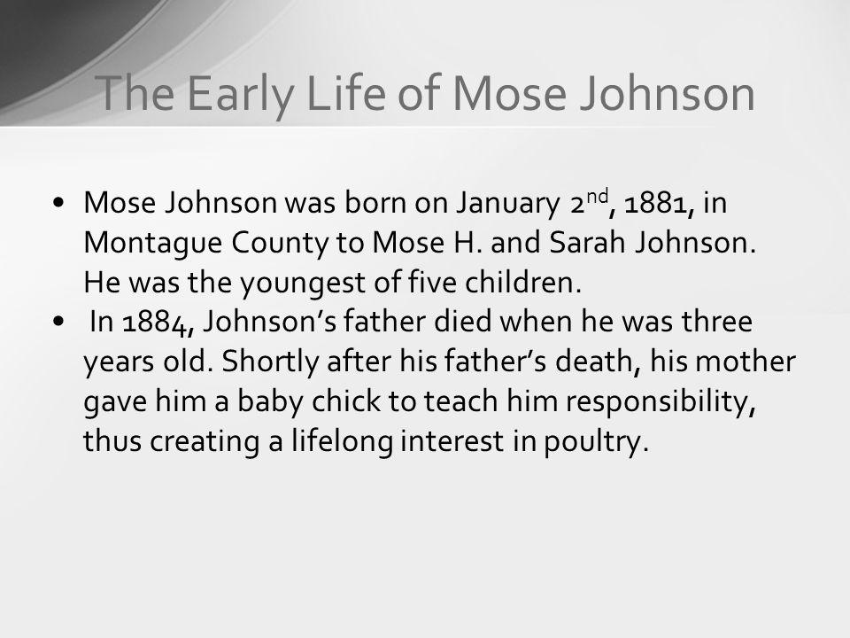 The Early Life of Mose Johnson