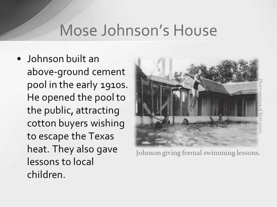Mose Johnson's House