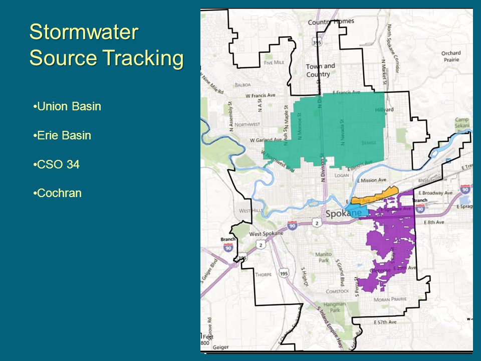 Stormwater Source Tracking