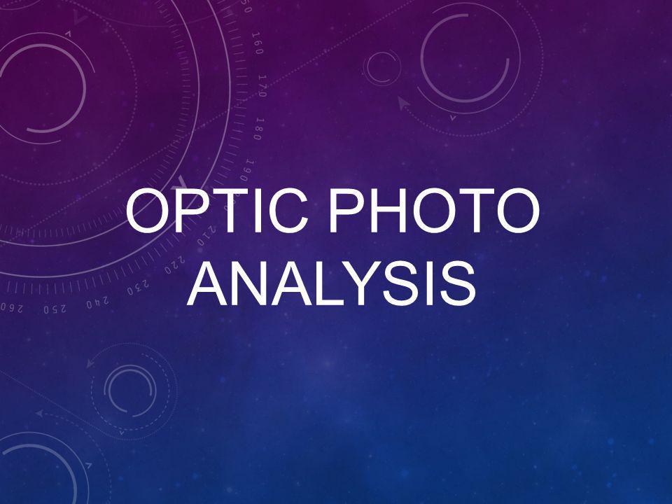 OPTIC Photo Analysis