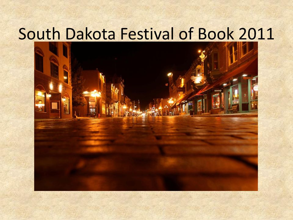 South Dakota Festival of Book 2011