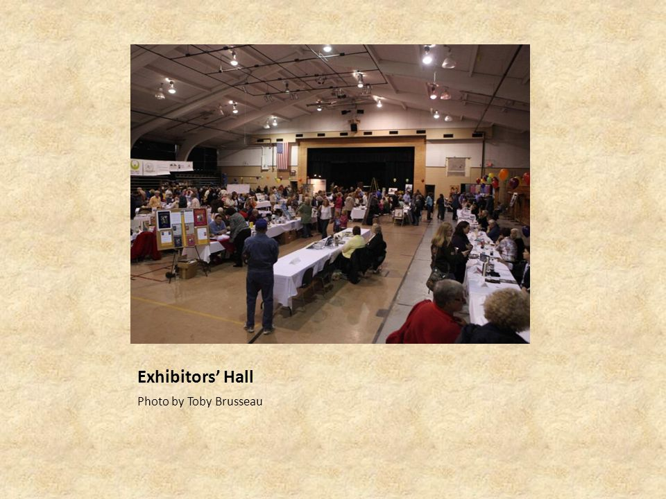 Exhibitors' Hall Photo by Toby Brusseau