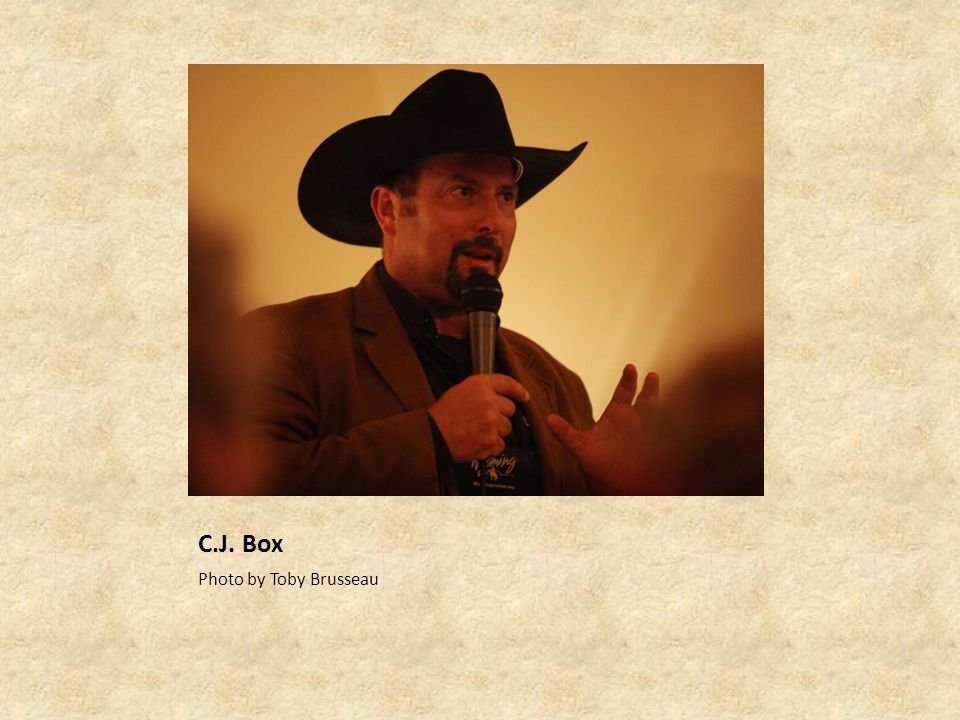 C.J. Box Photo by Toby Brusseau