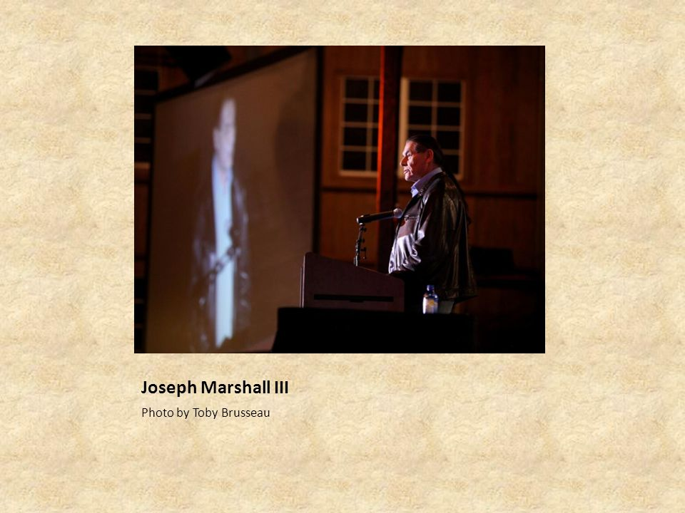 Joseph Marshall III Photo by Toby Brusseau