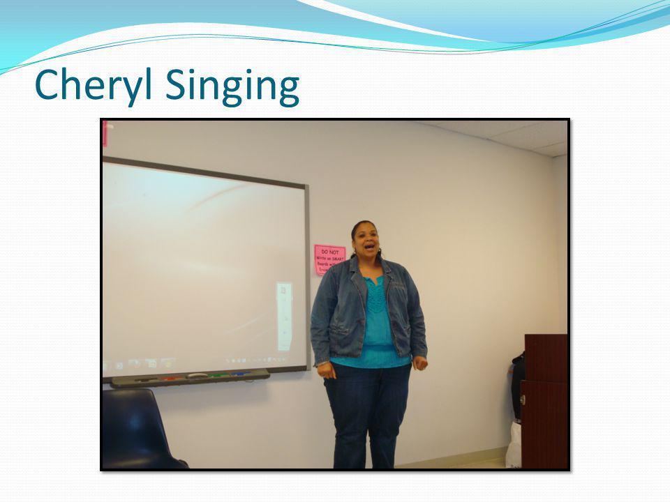 Cheryl Singing